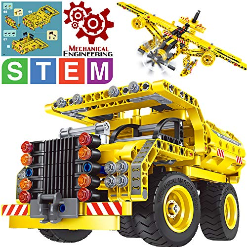Gili Building Toys Gifts for Boys & Girls Age 6yr-12yr, Construction Engineering...