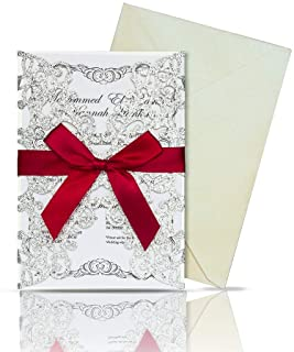 Best bling wedding invitations cheap Reviews