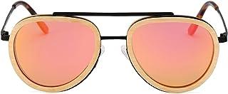 Wood Sunglasses for Women Men Polarized UV Protection...