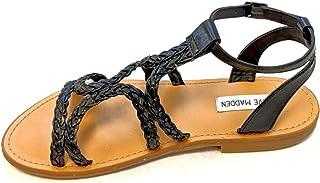 381299c5b1f Steve Madden Women s Dempsey Braided Gladiator Flat Sandal