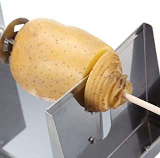 Cortador de patatas en espiral de acero inoxidable de alta duración DHL