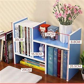 Escritorio librero simple escritorio estante pequeño Oficina Estante Estantería combinación multiusos Estudiante Locker de niños estantes de almacenamiento de gabinete de la esquina (color: A, Tamaño: