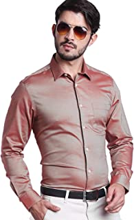 Knighthood by Fbb Men's Cotton Solid Formal Shirt