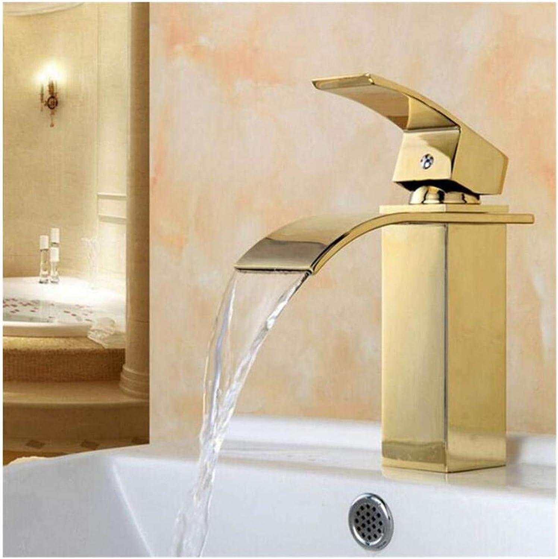 Kitchen Bath Basin Sink Bathroom Taps Washbasin Mixer Hot Waterfall Bathroom Faucet Ctzl1221