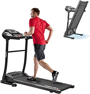Ankishi Under Desk Folding Treadmill 2 in 1, Folding Treadmill Home Electric Motorized Running Machine Low Noise with Touch Buttons LED Displays Screens - for Home Use & Gym Cardio Fitness