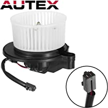 AUTEX HVAC Blower Motor Assembly Compatible with Jeep Commander 2006-2010 AC Blower Motor Replacement for Jeep Grand Cherokee 05-10 Blower Motor Air Conditioner 700168 5143099AA