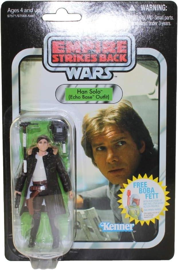 爆売り Star トレンド Wars 3.75 inch Vintage Figure Han Outfit Base Solo Echo
