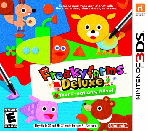 Freakyforms Deluxe:  Your Creations, Alive! - Nintendo 3DS