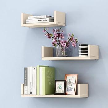 Gssslt Etagere Flottante Chambre Etageres Murales Ikea Rangement Decoration Etagere Murale Fixation Invisible Lot De 3 Color White Amazon Fr Cuisine Maison