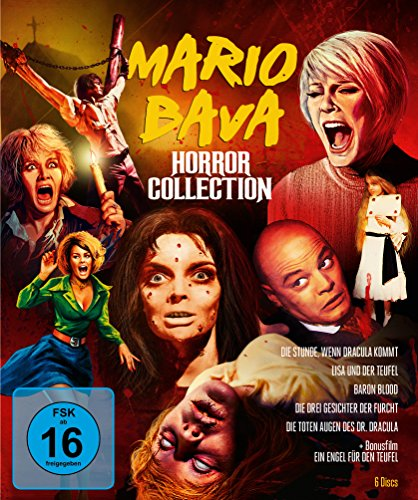 Mario Bava Horror Collection - Limitiert (+ Bonus-DVD) [Blu-ray]