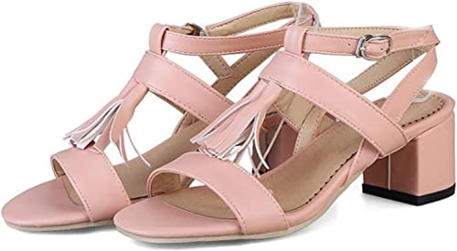 Plus Taille Summer Sandals femmes High Heels Roman Sandals Sexy Peep-Toe Wedding