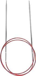 Addi 775-7 Agujas de Punto Redondas Lace, niquelado 80 cm, 2,75 mm