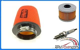 RPM 99-14 Fits Honda TRX 400EX 400X SPORTRAX AIR + Oil Filter + Spark Plug Tune UP KIT