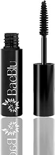 BaeBlu Organic Mascara and Lash Conditioner, Long and Healthy Lashes, Non-Irritating 100% Natural Formula, Black