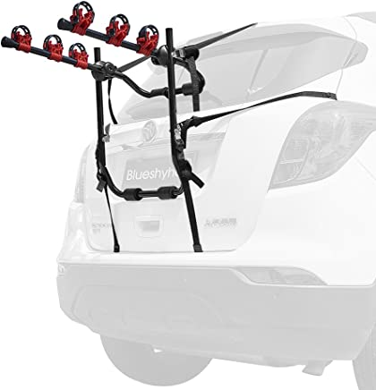 Hatchbacks KEENAXIS Deluxe Trunk Mounted Bike Rear Rack for Car Mount Carrier Fits Most Car Sedans Minivans and SUV