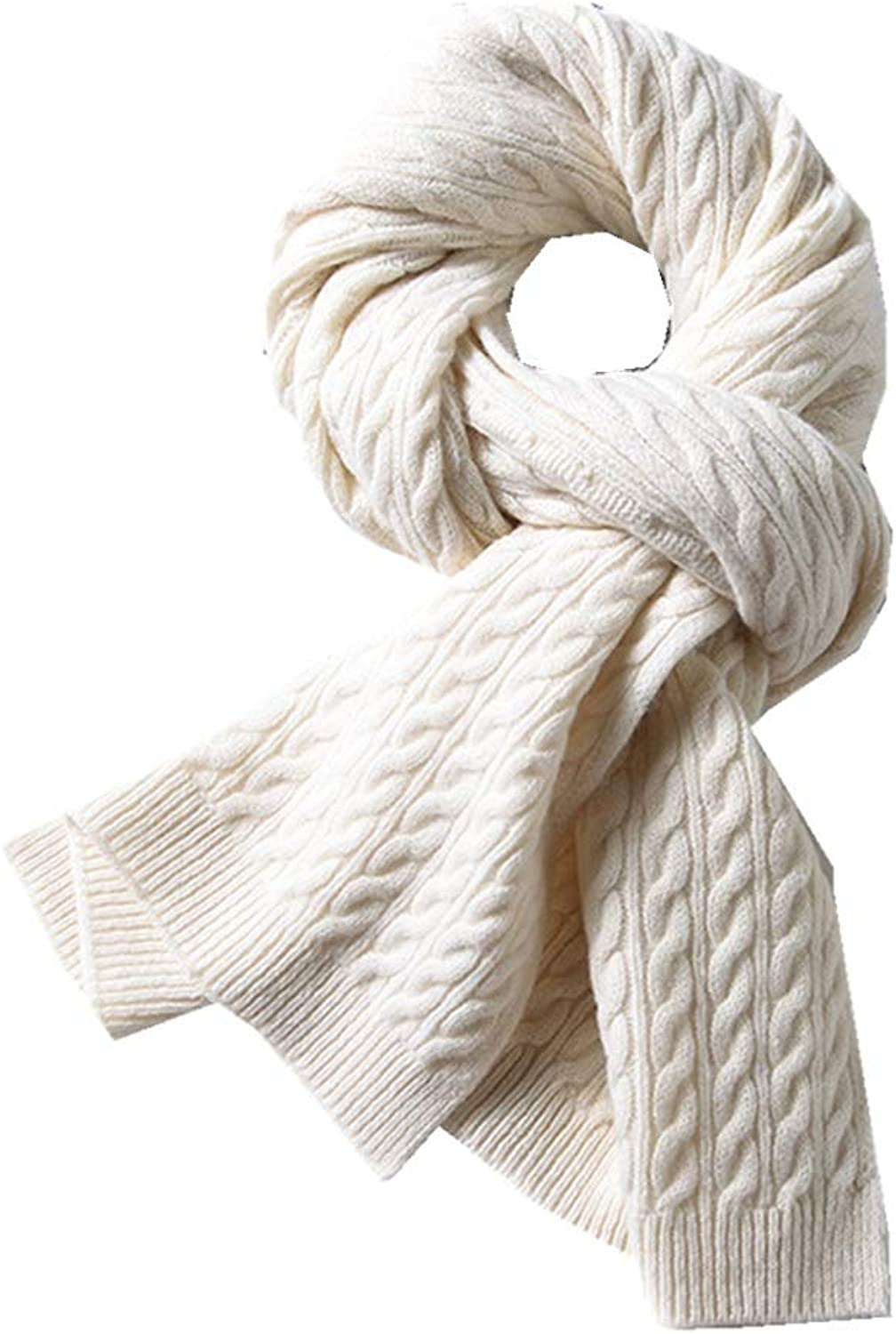 Women Lady Girl Women's Autumn and Winter Scarf Cold and Soft Party Lightweight Scarf (color   White)
