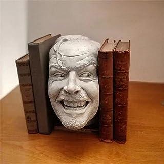 كتاب ينتهي مكتبة bookend الساطع الراتنج سطح المكتب زخرفة كتاب الجرف النحت الديكور