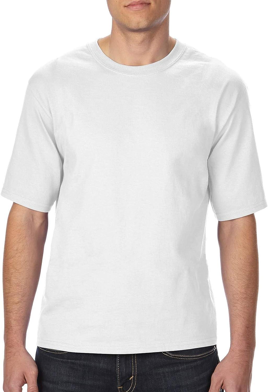 Gildan Adult Tall Ultra 6.1 oz Cotton T-Shirt in White - LT (Large Tall)