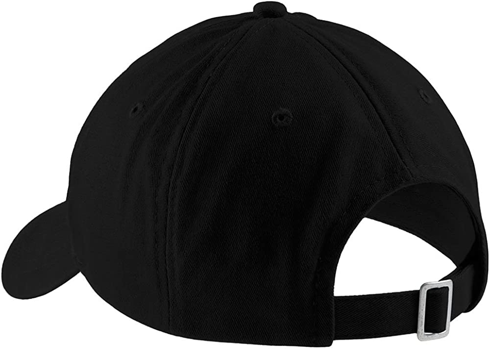 Trendy Apparel Shop STFU Embroidered Soft Crown 100% Brushed Cotton Cap