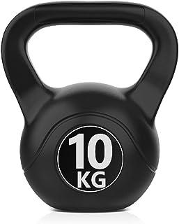 Joly Home Kettlebell da 6-10 kg per Sport e Fitness in PVC con Sabbia e Maniglia Liscia Anti-Sfregamento