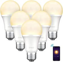 Gosund Smart Light Bulb Compatible with Alexa, Google Home, WiFi LED Bulb, E26 Dimmable Bulb A19 No Hub Required 2700K War...