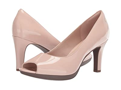 Clarks Adriel Phyliss (Dusty Pink Patent) Women