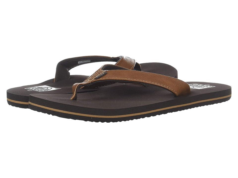 Reef Kids Twinpin (Little Kid/Big Kid) (Brown) Boys Shoes