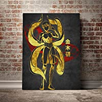 金木研東京喰種トーキョーグールポスターキャンバスウォールアートリビング用デコレーションプリントキッズチルドレンルームホームベッドルームデコレーションペインティング/ 60x80cm(フレームなし)
