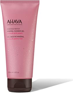 AHAVA Mineral Shower Gel, Cactus & Pink Pepper, 200ml