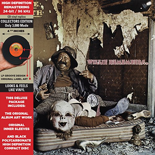 Willie Remembers. -Cardboard Sleeve-High-Definition CD Deluxe Vinyl Replica [Import]