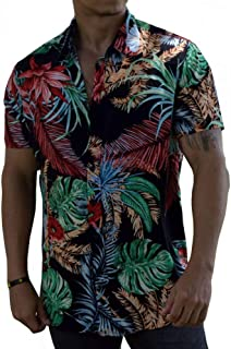Camisa Floral Viscose Masculina Floresta Brasileira