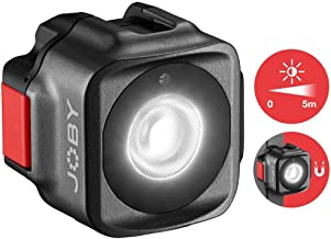 JOBY Beamo, Mini LED Light for Smartphone and Mirrorless Camera - Compact, Magnetic, Bluetooth, Waterproof, for Vlogging, Photo and Video Content Creation