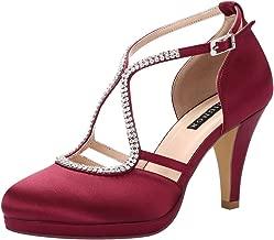 Best burgundy wine heels Reviews
