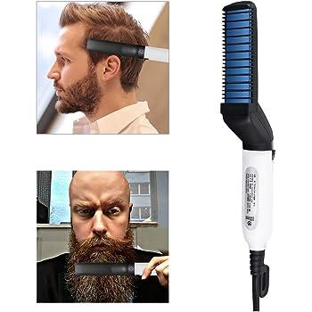 Cepillo eléctrico para barba, barba más rápida para hombre ...