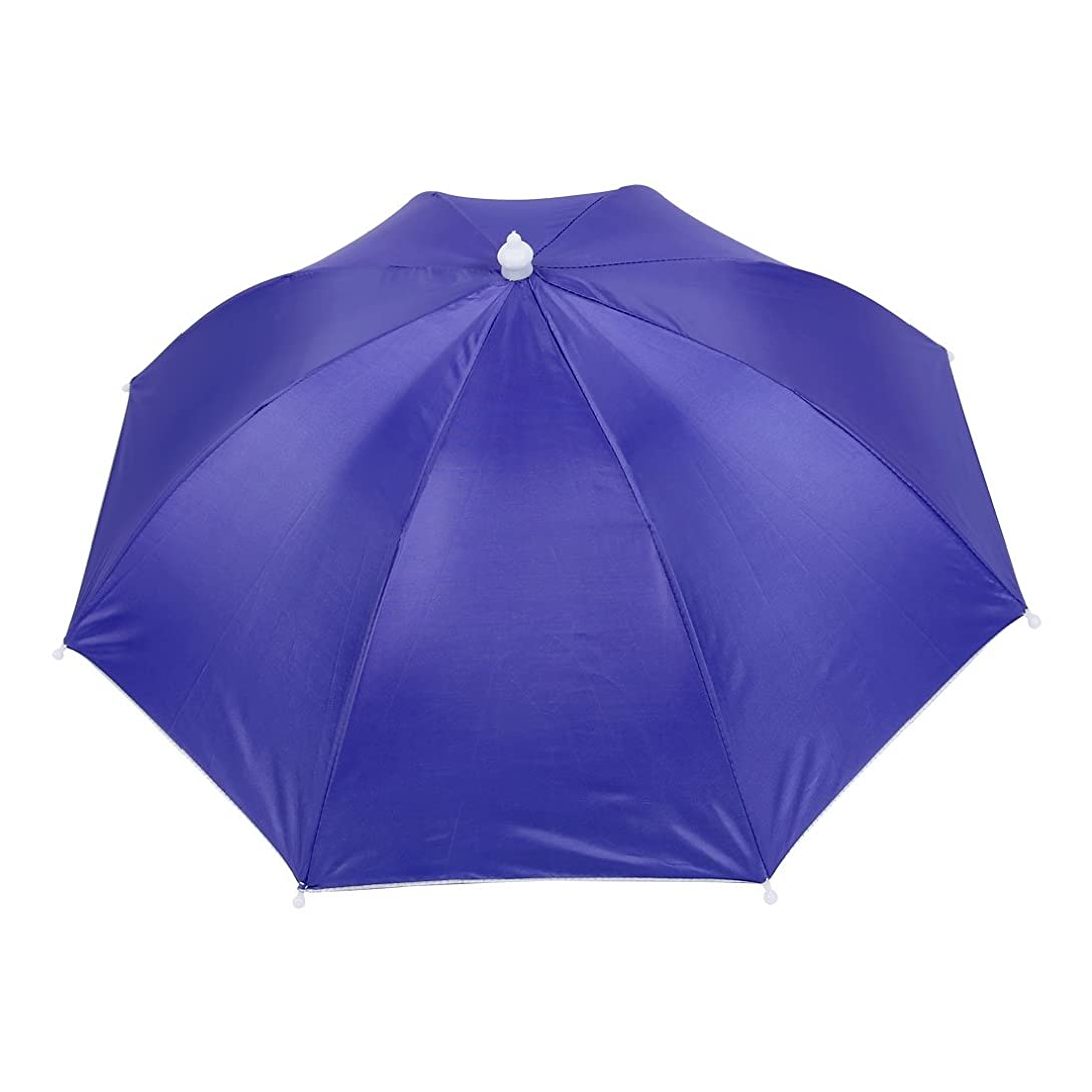 受け入れ囲まれたはずuxcell 釣り傘 傘帽子 釣り用 ヘッドバンド釣り帽子 アウトドア用 ポリエステル プラスチック