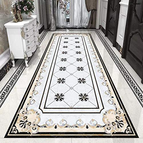 3D Bodenmalerei Tapete Marmorboden Tapete Im Europäischen Stil 3D Wohnzimmer Hotel Luxus Dekor Fliesen Boden Wandbild Pvc Selbstklebende Wasserdichte Aufkleber-150 * 105Cm