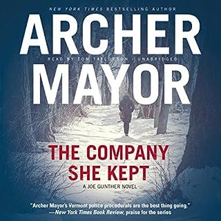 The Company She Kept audiobook cover art