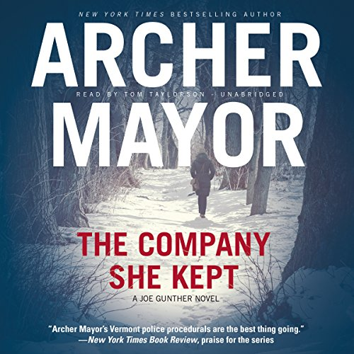 The Company She Kept audiobook cover art