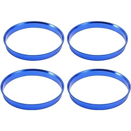 Anladia 4 Set Felgen Felge Aluminium Zentrierringe Im Set 74 1 Mm 72 6 Mm Alu Ringe Blau Ersatz Auto
