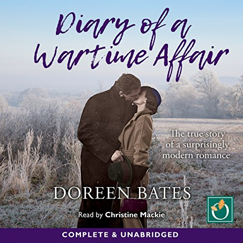 Diary of a Wartime Affair audiobook cover art