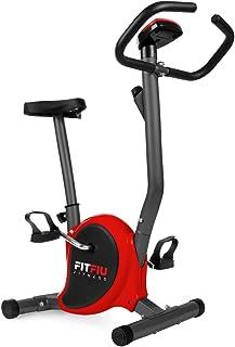 Fitfiu Fitness BEST-100 ROJA Träningscykel, Röd, S