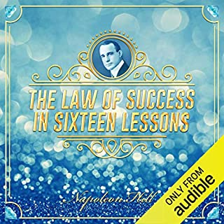 The Law of Success in Sixteen Lessons audiobook cover art