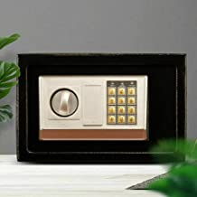 1.6L Electronic Digital Security Double Alarm Safe Box Cash Deposit Home Office Business Use Storage