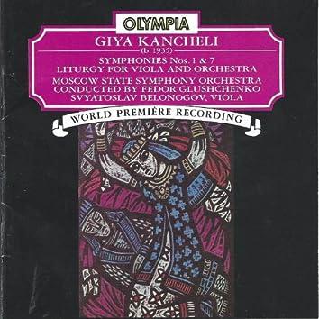 Giya Kancheli: Symphonies 1 & 7; Liturgy