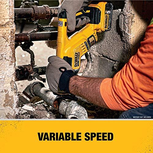 DEWALT 20V MAX XR Reciprocating Saw, Compact, Tool Only (DCS367B)