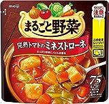 まるごと野菜 完熟トマトのミネストローネ 200g ×6
