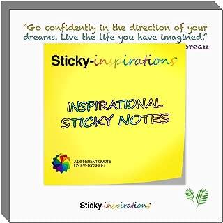 Sticky-inspirations Inspirational Sticky Notes (Inspirational Sticky Notes)