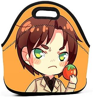 KILILY Romano (Lovino) - Hetalia Men Women Kids Insulated Lunch Bag Tote Reusable Lunch Box For Work Picnic School