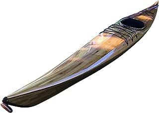 wood strip kayak