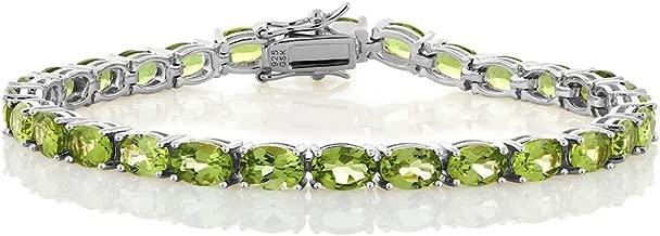 Best peridot sterling silver bracelet Reviews